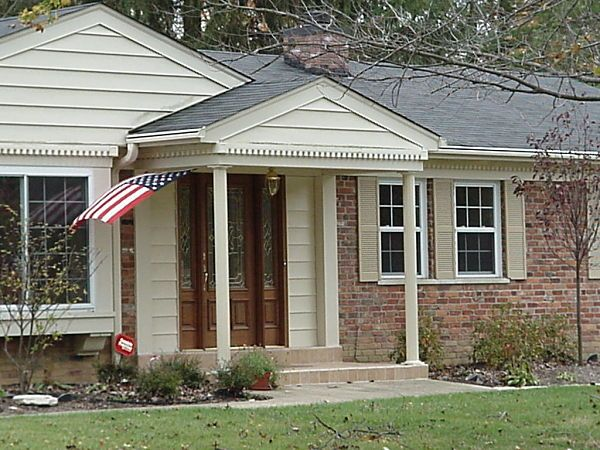 Covered Entryways And Front Porches Adding Curb Appeal To
