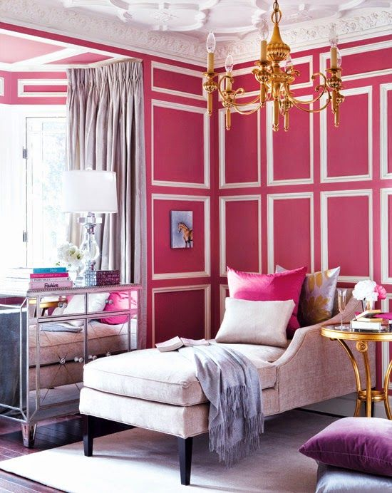 PINK, PINK AND MORE PINK! | Room, Interior office and Pink room