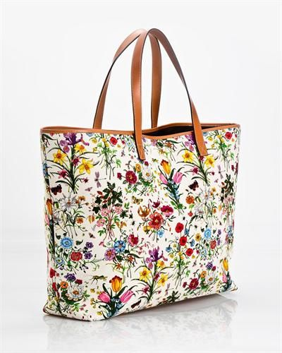 Gucci Floral Tote Bag Made In Italy Ob Print Ideas Floral