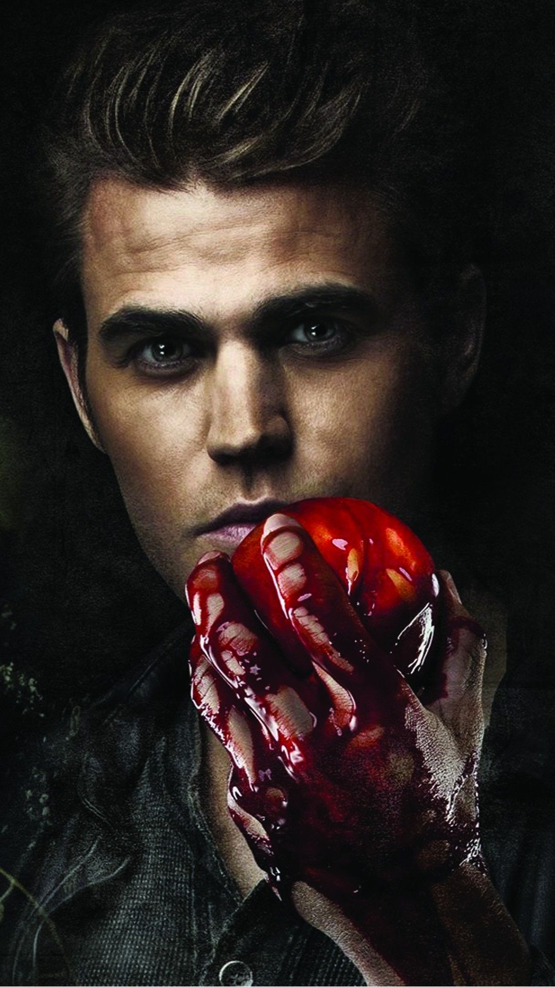 Stefan Salvatore Paul Wesley Vampire Diaries Phone Wallpaper HD
