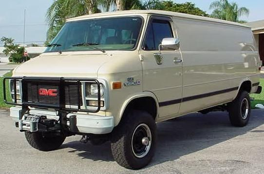 Pathfinder 4x4 Chevy Van Conversion Pics Vans Chevy Van Gmc
