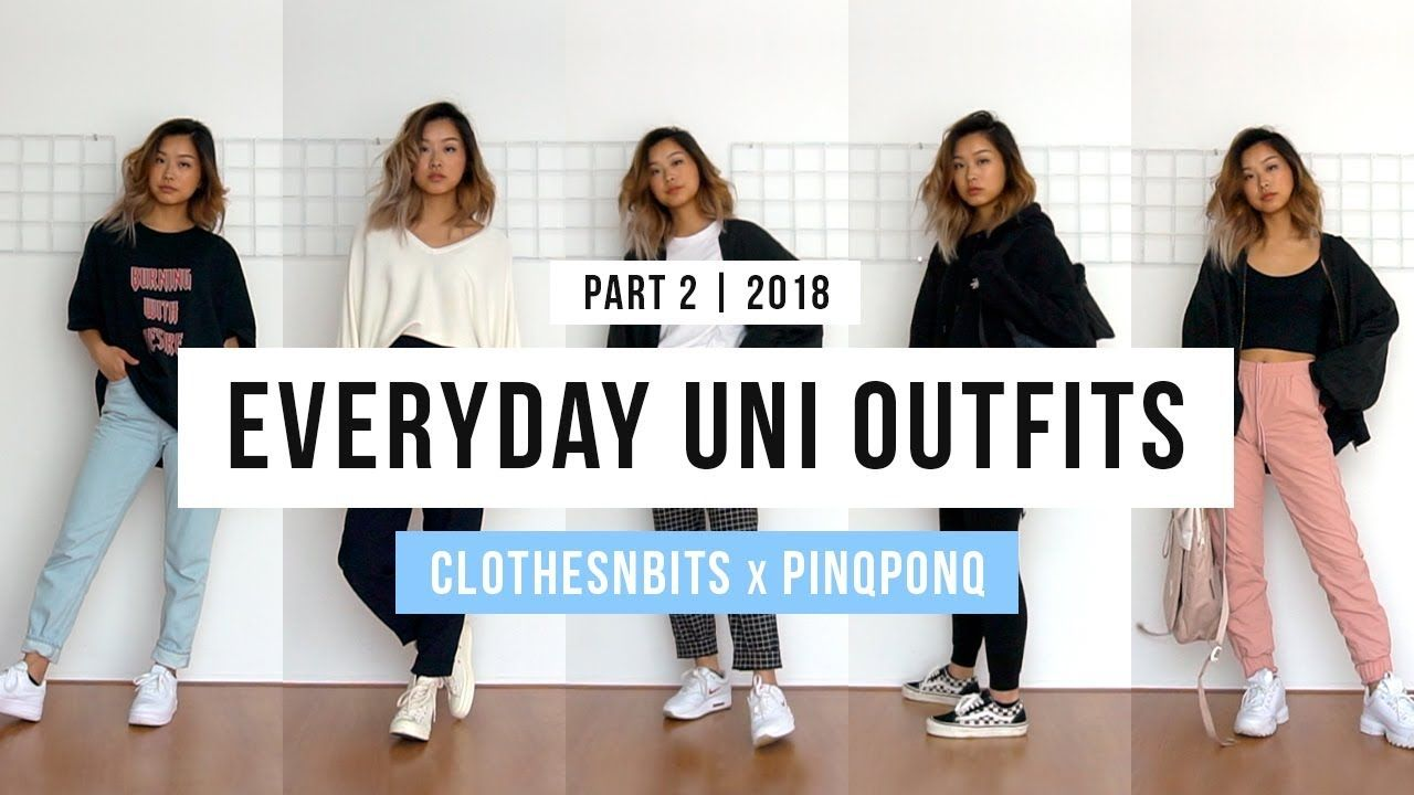 c7f00a4426bf Everyday Uni Outfits ft. Pinqponq (pt. 2) - YouTube | most def in ...