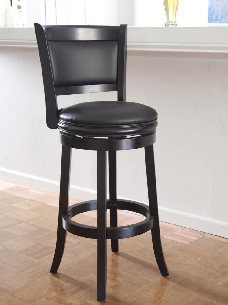 Super Wooden Swivel Bar Stools With Back Wood Patio Kitchen Unique Ibusinesslaw Wood Chair Design Ideas Ibusinesslaworg