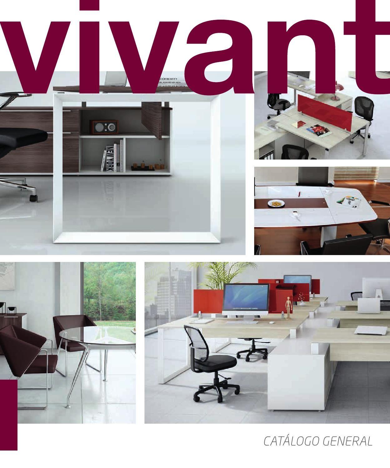 Vivant catalogo mobiliario oficina mobiliario oficina for Mobiliario de oficina precios