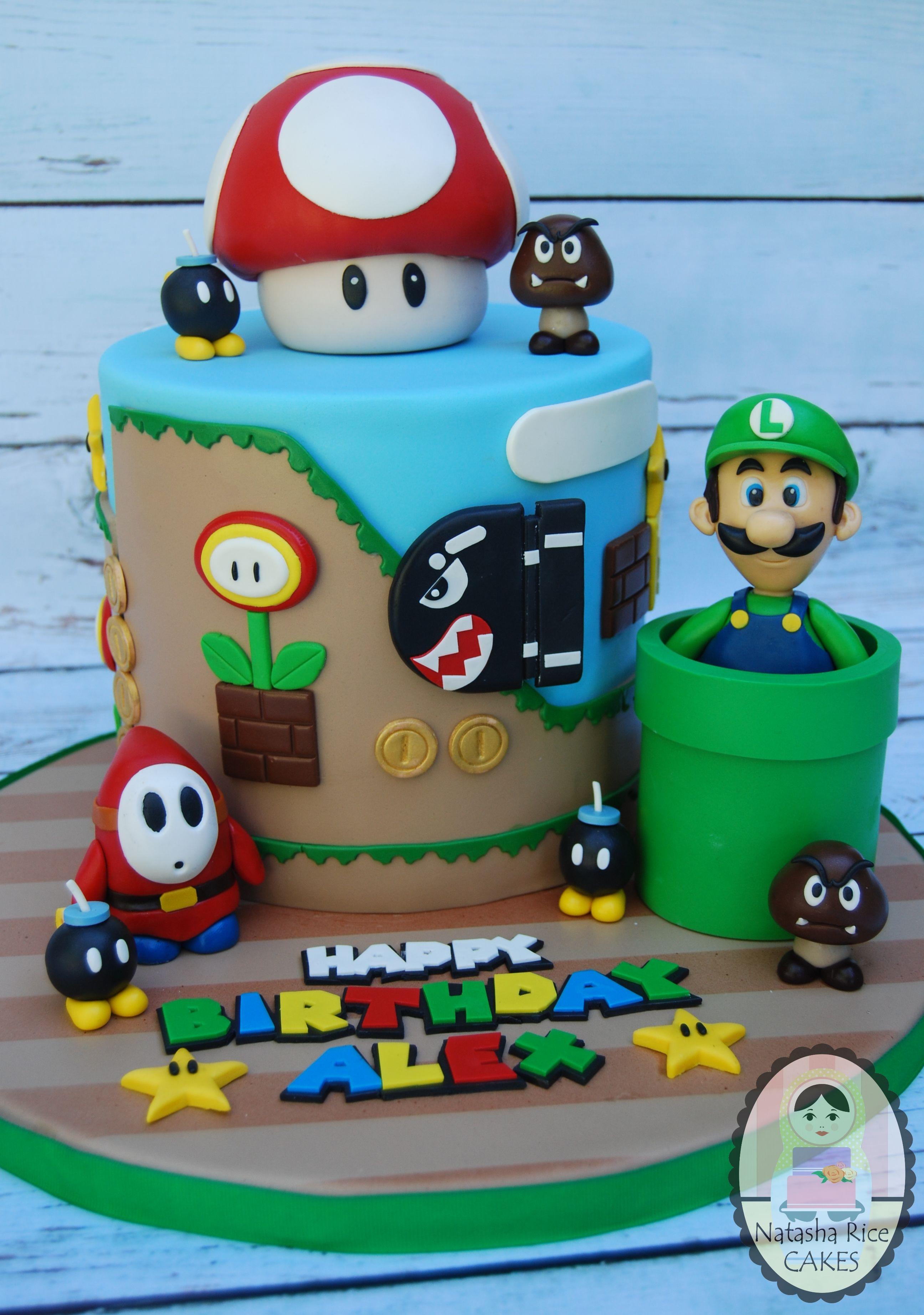 Magnificent Birthday Boy Mario Bros Birthday Super Mario Birthday Party Personalised Birthday Cards Akebfashionlily Jamesorg