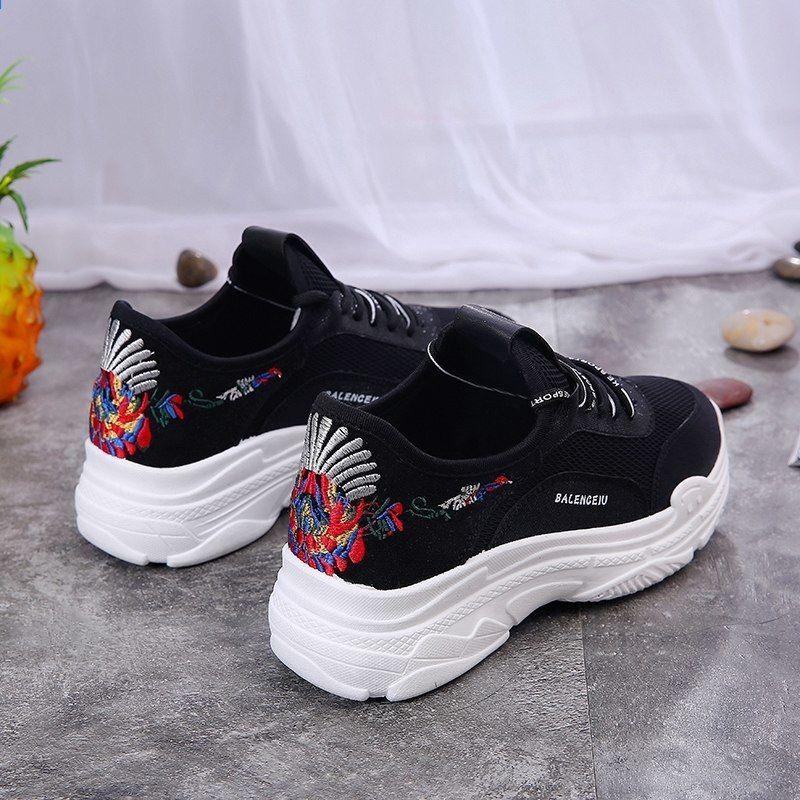 Hot Jual Wanita Mewah Sepatu Lari Wanita Nyaman Berjalan Sepatu