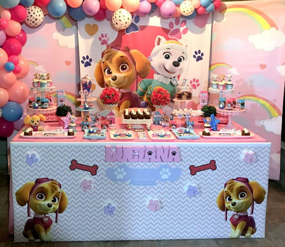 Don't Miss This Cute Paw Patrol Birthday Party For A