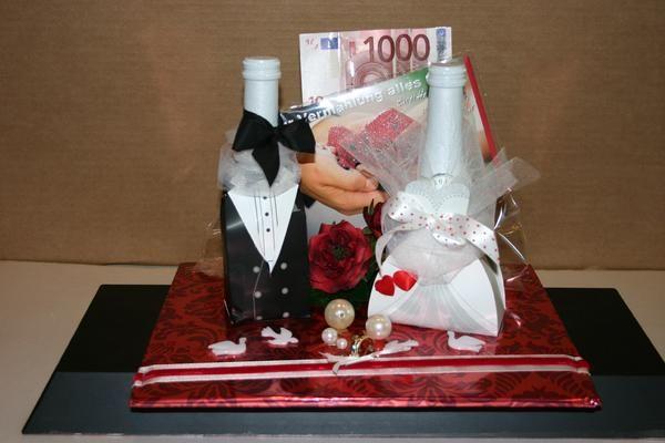 Geschenk zur Hochzeit  HochzeitDeko  Geldgeschenke hochzeit Geldgeschenke Geschenk hochzeit