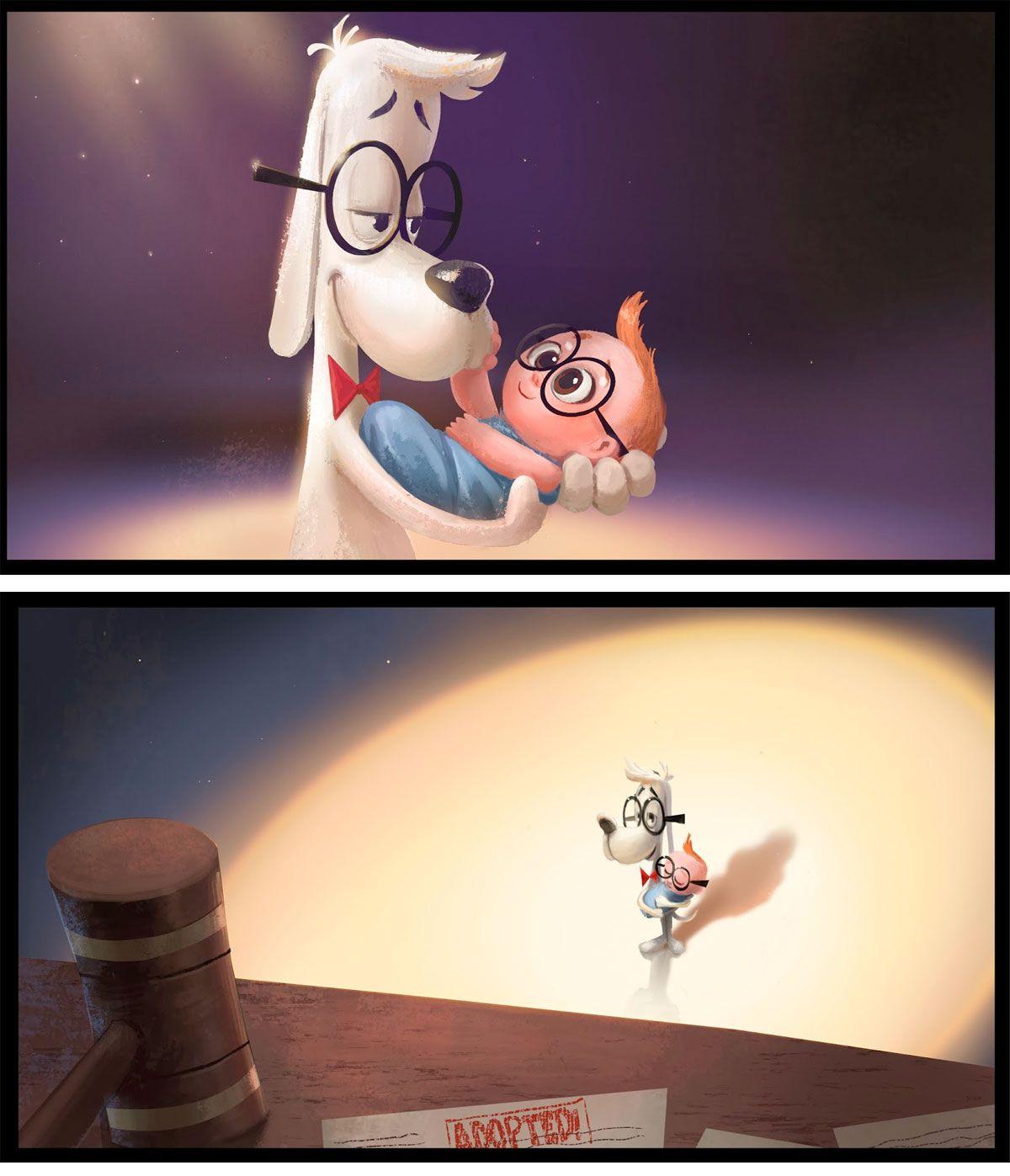 Mr. Peabody & Sherman~ Dah! I love their relationship!~ KJM