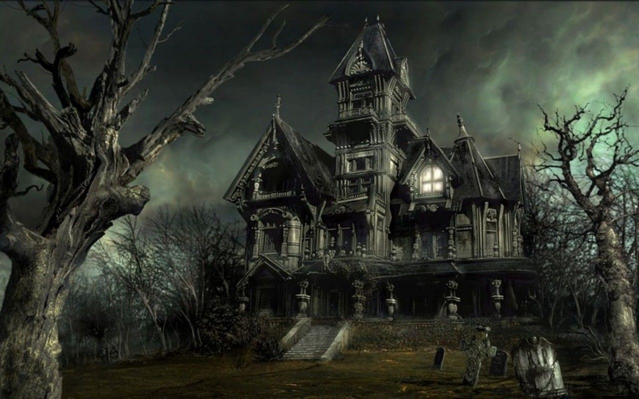 The House Inside Of Holloween Mansion