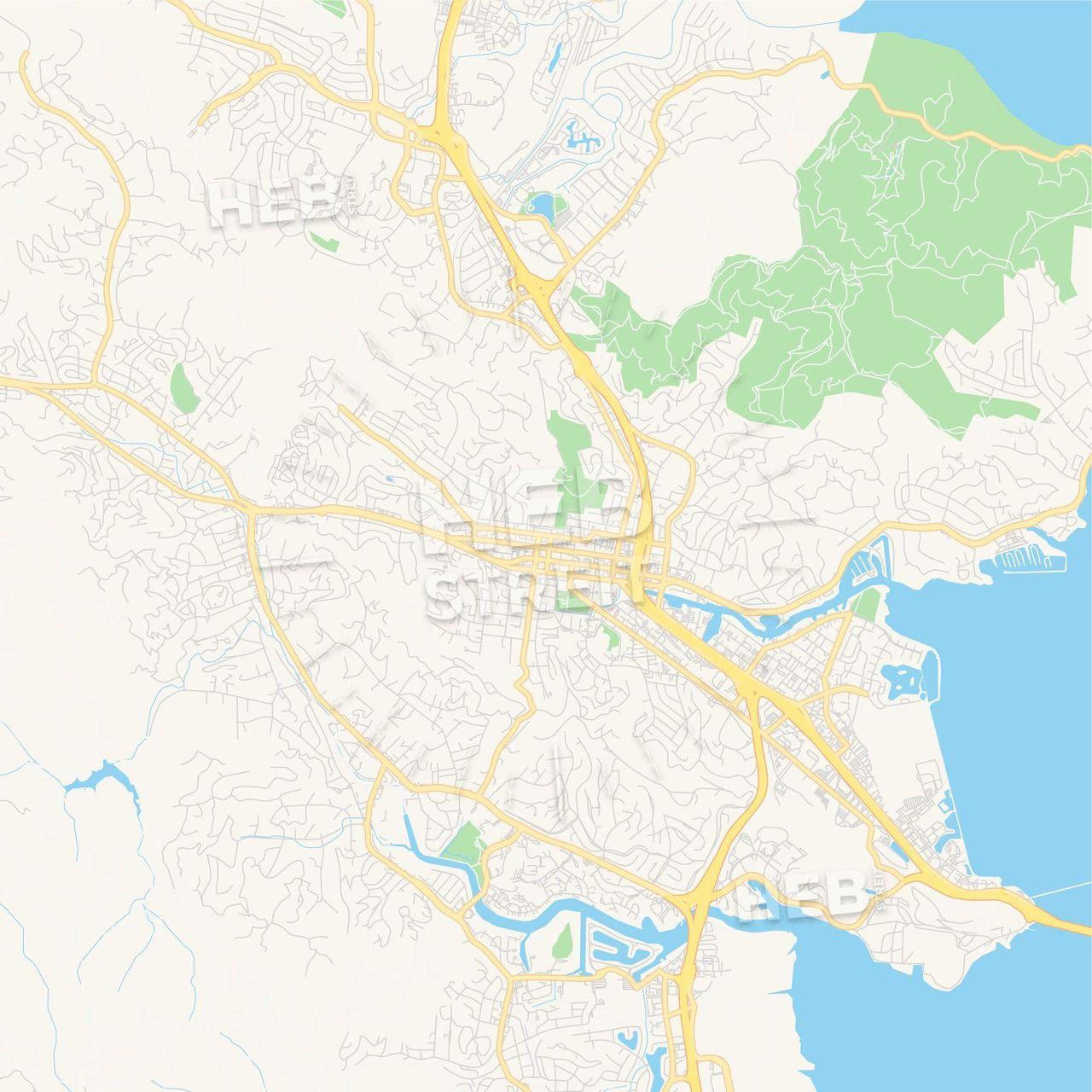 Empty vector map of San Rafael, California, USA | Maps ... on rockridge map, concord area map, marin ca map, los altos map, rancho blanco map, san pablo map, el rincon map, los robles map, downieville map, marin county civic center map, felton map, point richmond map, sandia park map, san lorenzo map, rancho san antonio park map, yerba buena map, city of san francisco map, bay area map, south san francisco map, palisades trail map,