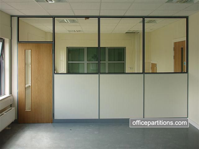 half glazed office partitions - Google Search | hci remodel ...