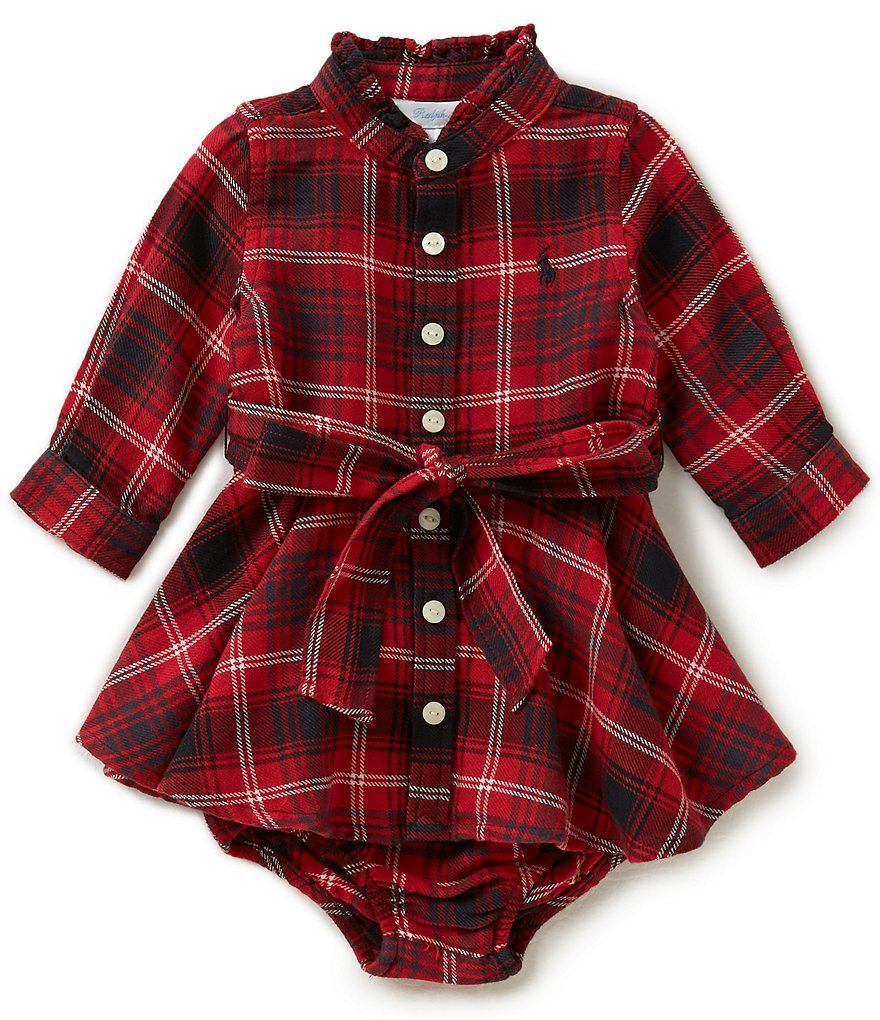 Infant Baby Toddler Girls Boys Outfits Clothes 3-24 Months ❤️ 2Pcs Plaid Hooded Tops Sweatshirt Pants Set
