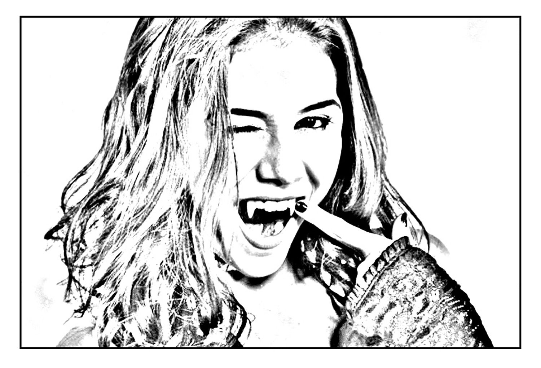 Coloriage Chica Vampiro A Imprimer Coloriage Chica Vampiro