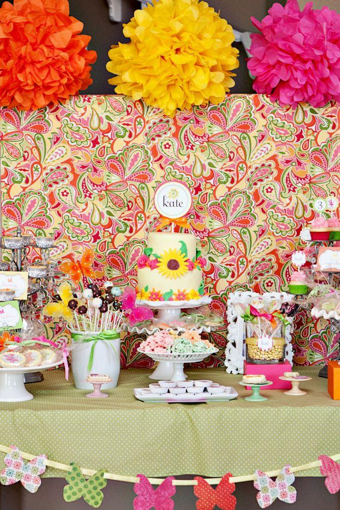 Kate S Fairy Garden Birthday Party Parties I Love Pinterest