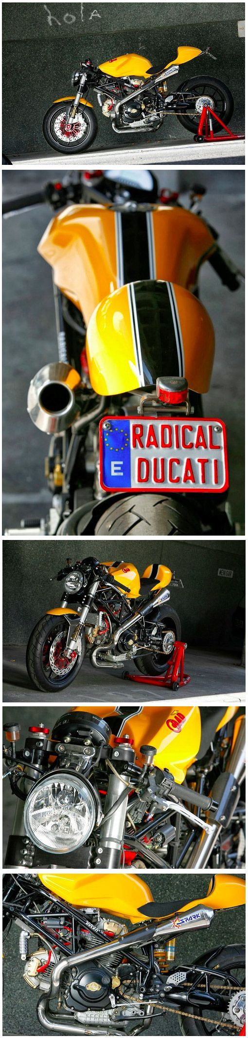RAD02 CAFE RACER (2005) :: by Radical Ducati // Spain    Source link #Cafe #DUCATI #Racer #RAD02 #RADICAL #Spain