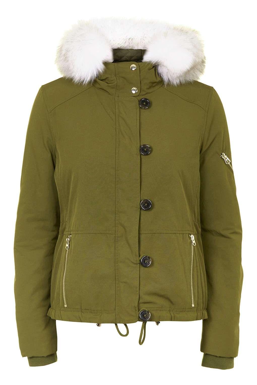 Short Padded Parka - Jackets & Coats - Clothing | Parka, Shorts ...