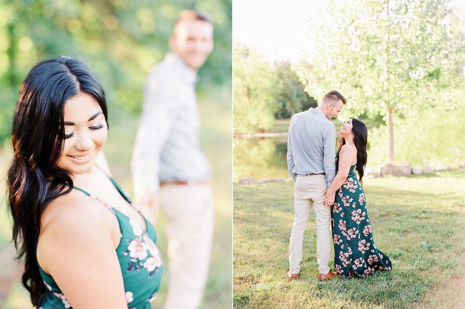 Sydney and Tony\'s Lost Hill Lake Events Engagement Session