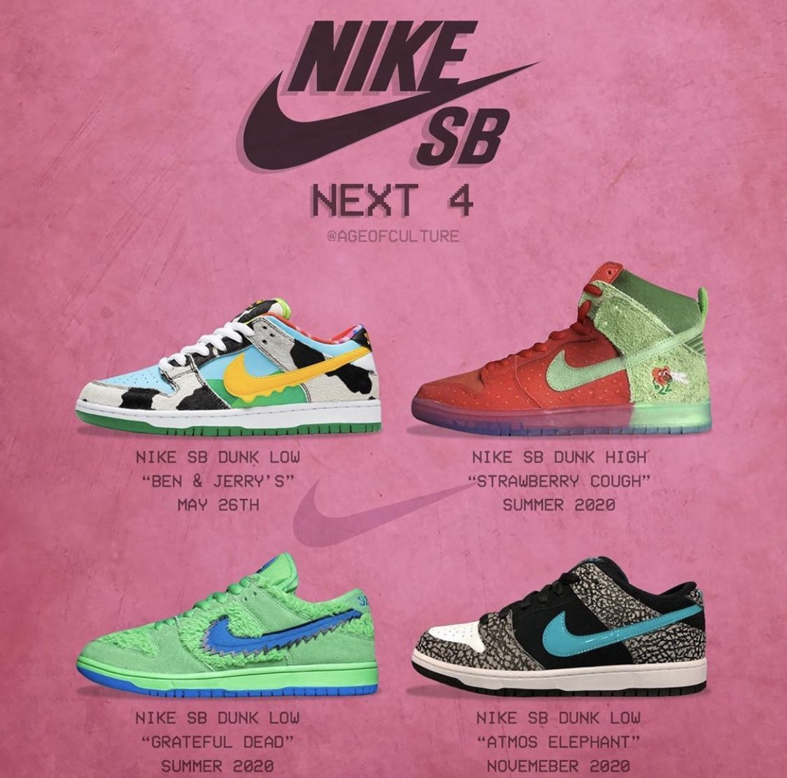 Upcoming sneaker releases