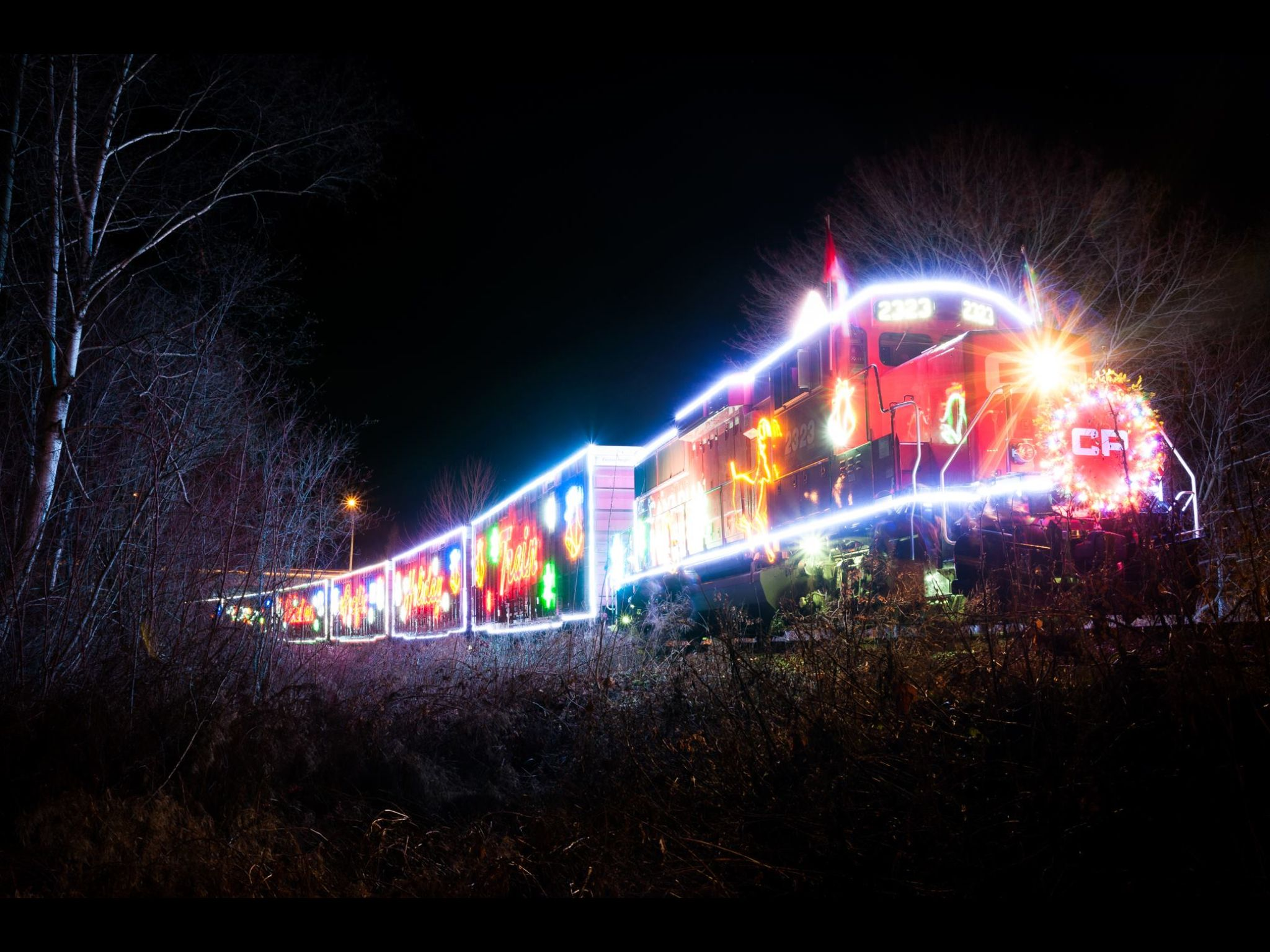 Holiday train....Nelson, BC  Canada
