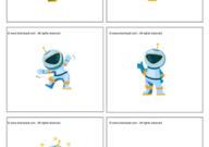 مطابقة رجل الفضاء مطبوعات الفضاء للاطفال