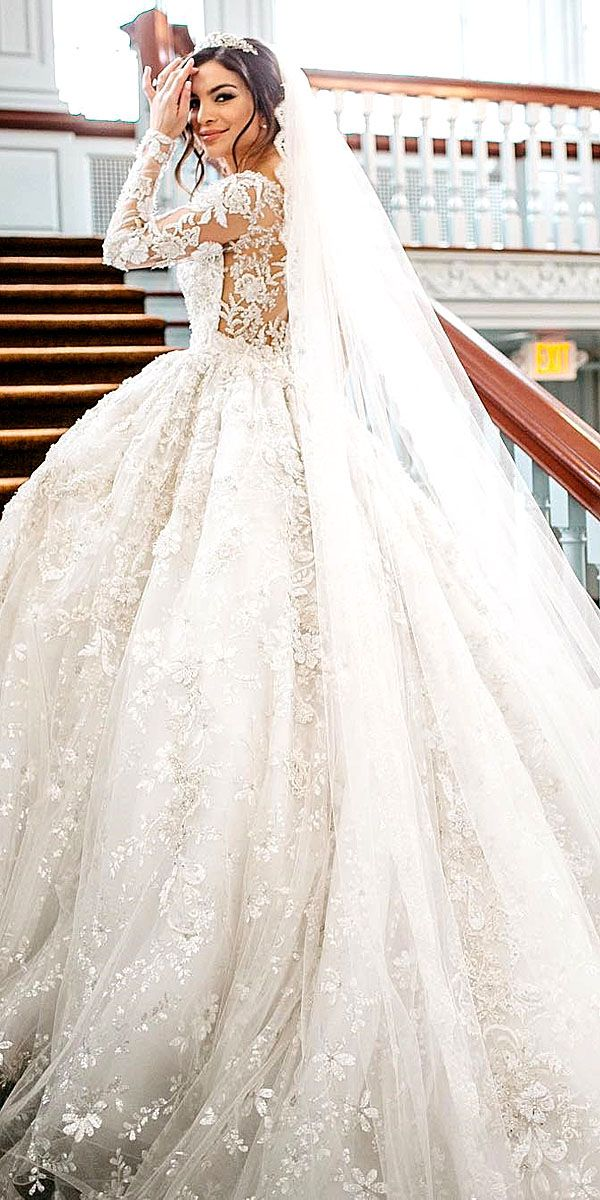 36 Chic Long Sleeve Wedding Dresses | Pinterest | Long sleeved ...
