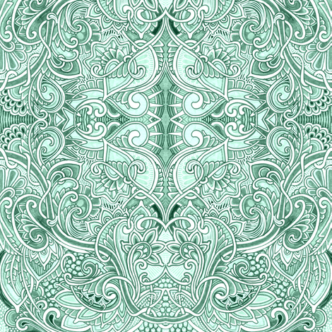 In A Swirly Place fabric by edsel2084 on Spoonflower - custom fabric