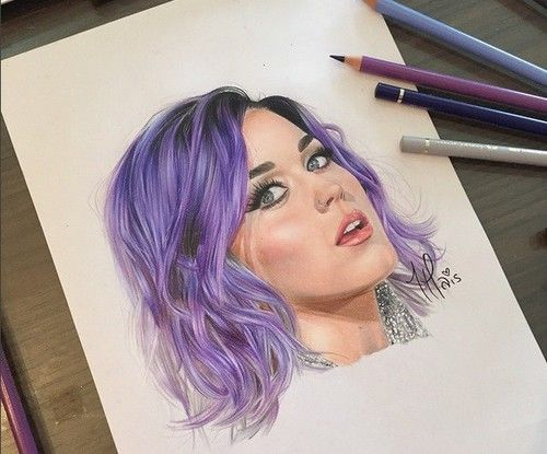 desenho da katy perry art drawing portre in 2018 pinterest