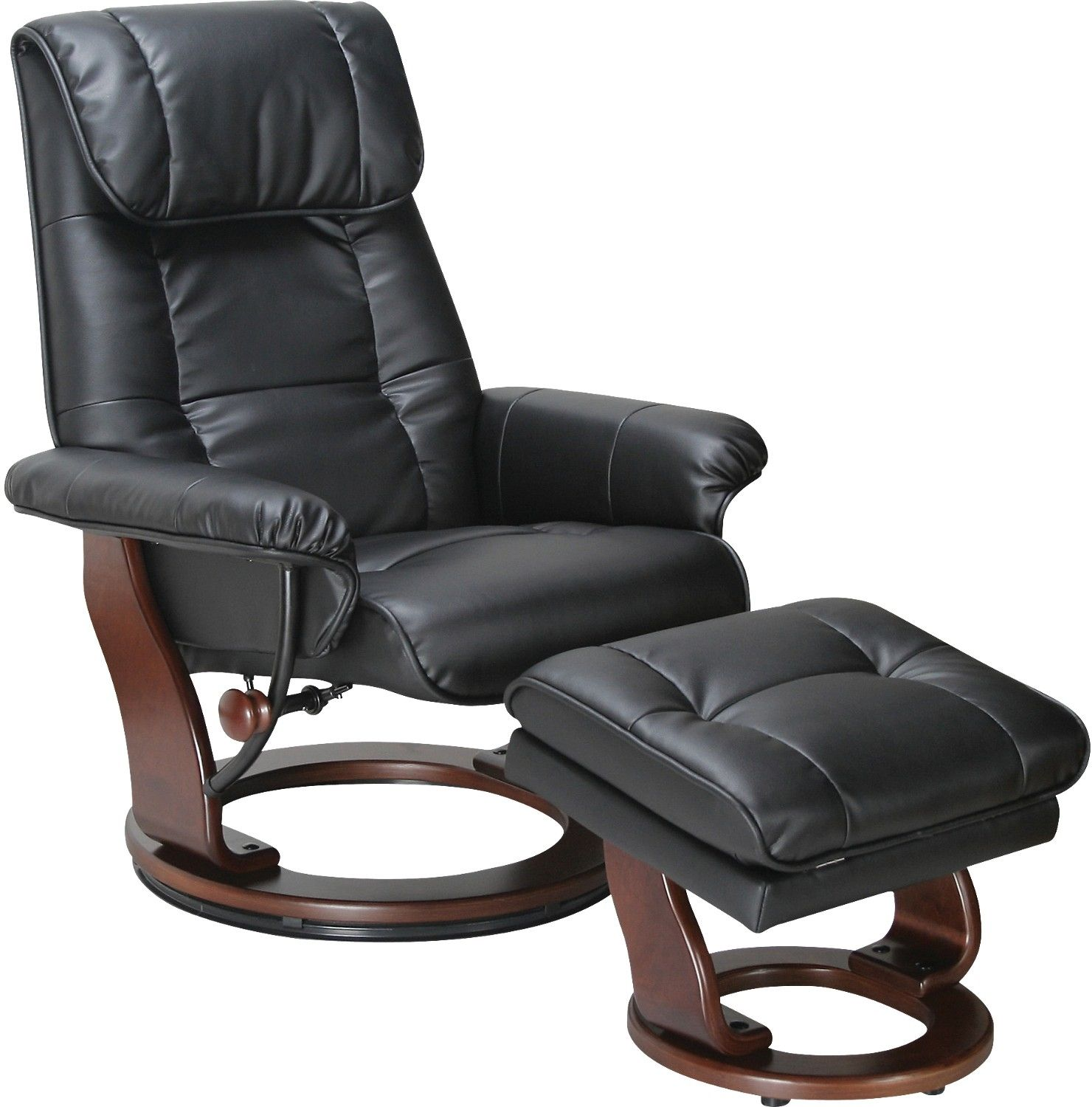 Dixon Black Reclining Chair Relaxsessel Moderne Zimmer Sessel