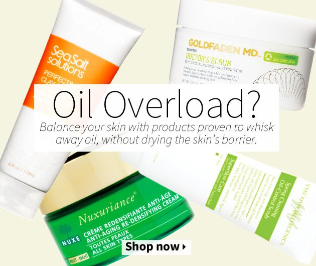 Balance your skin with products proven to whisk away oil, without drying the skin's barrier.