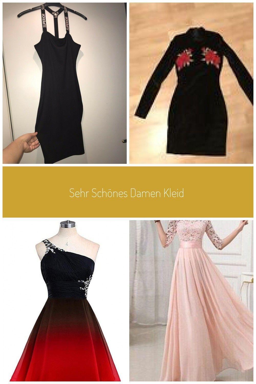 Sehr Schönes Damen Kleid Abend Sommer Party Long Top Schwarz Weiss