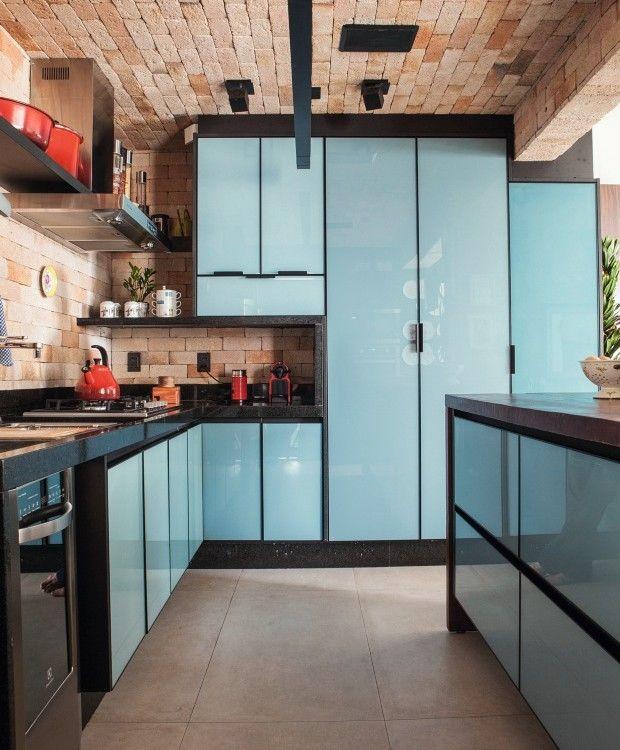 Decoracao De Apartamento Tem Cozinha Aberta Horta E Aconchego