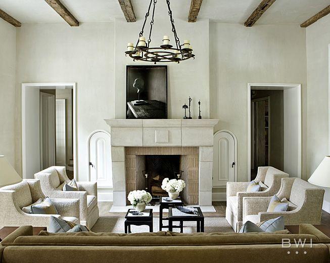 Jeff And Lisa Martin Called On Beth Webb Interior Designer To Help Design Their Buckhead Home