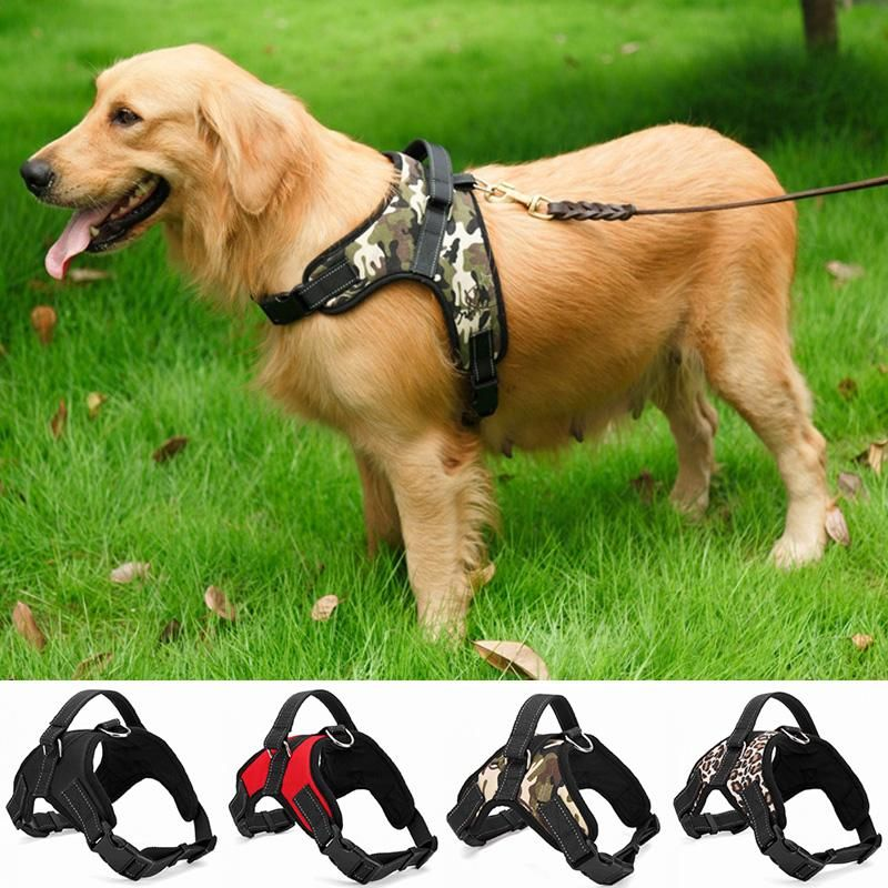 Heavy Duty Padded Dog Harness For Extra Large Large Medium And