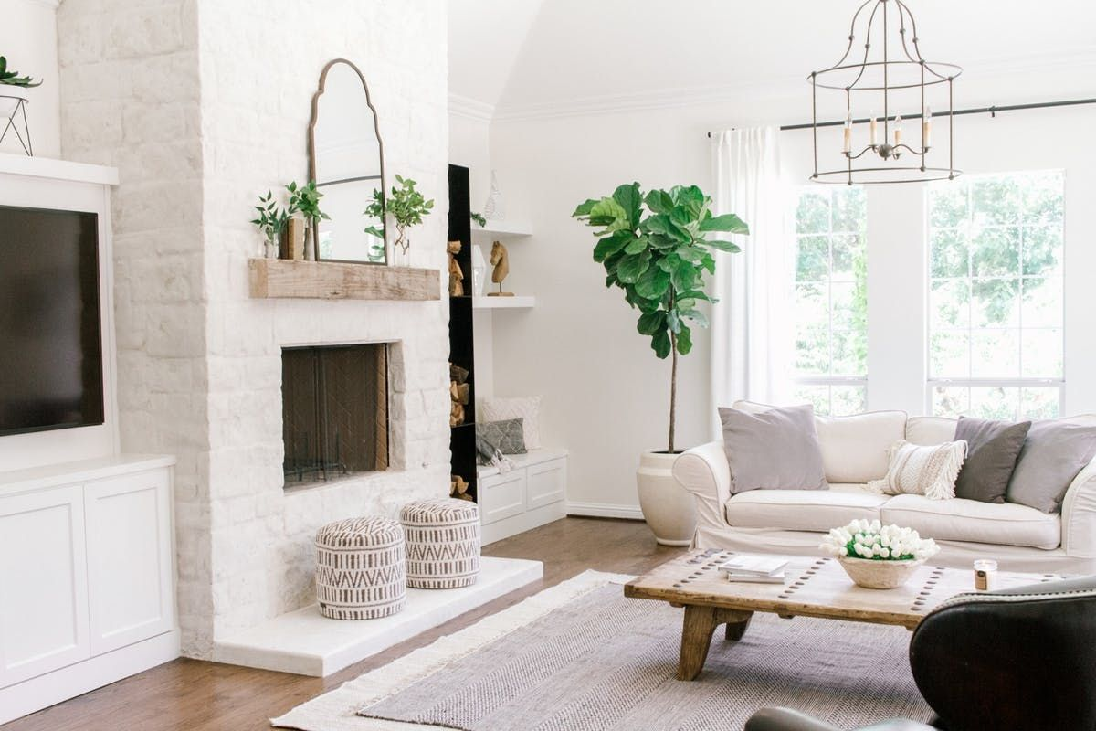 A Coastal Farmhouse in White Done SO Right in 2020