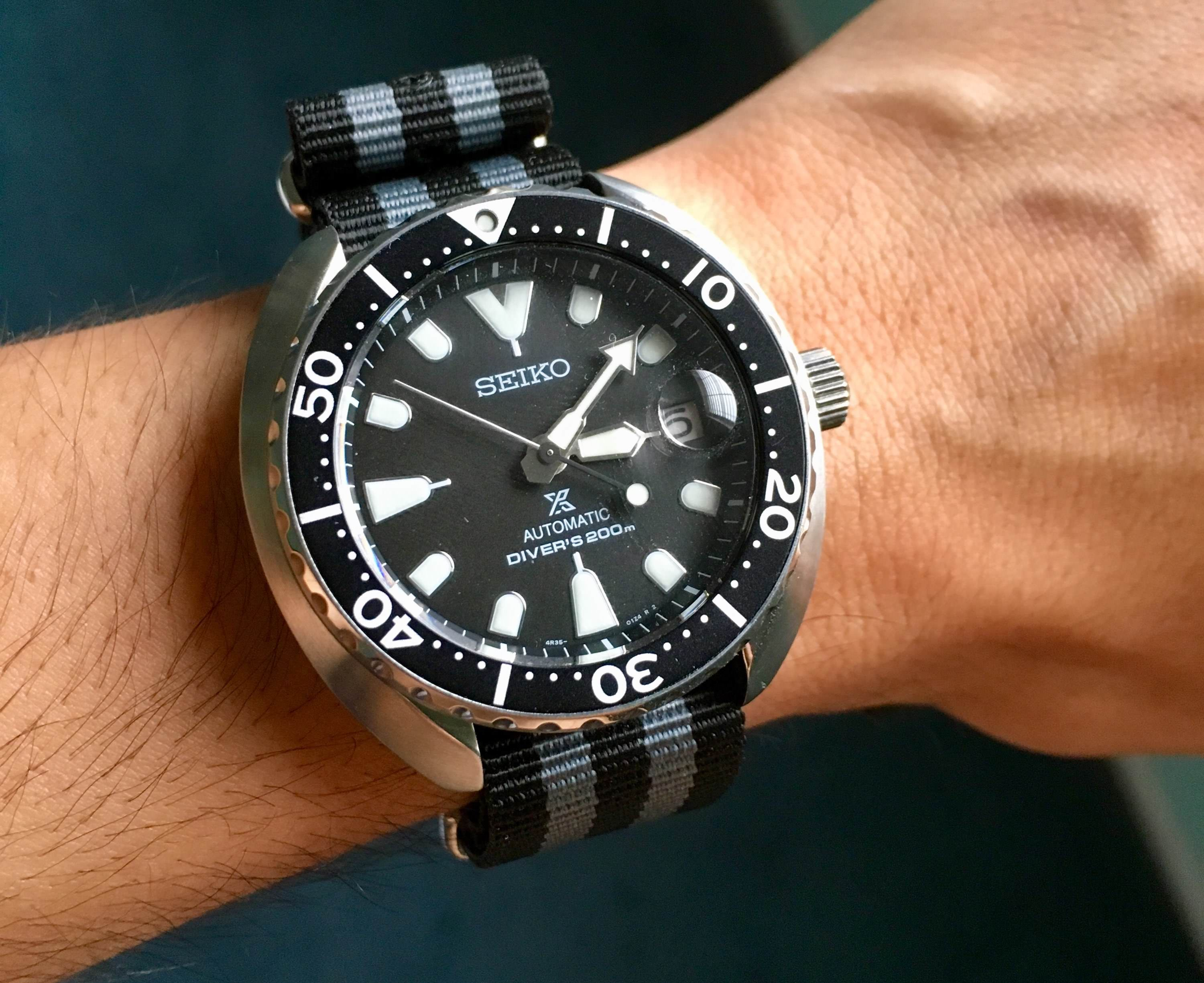 Seiko Srpc35k1 Mini Turtle Amazed By Accuracy Uhr Time In 2019