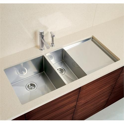 Bar Sinks Blancoprecision 10 1 1 2 Bowl With Drainer 513 693 From Blanco Undermount Kitchen Sinks Double Kitchen Sink Kitchen Inspirations