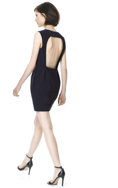 Image 3 of BACKLESS DRESS from Zara