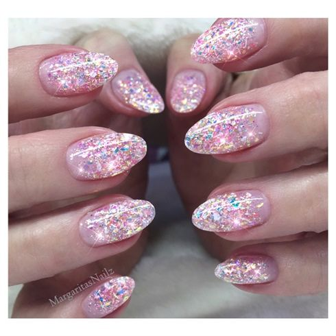 Glitter Nails By Margaritasnailz From Nail Art Gallery Nails