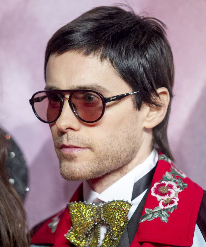 Jared Leto S Mullet Haircut Mullet Hairstyle Mullet Haircut Jared Leto Haircut