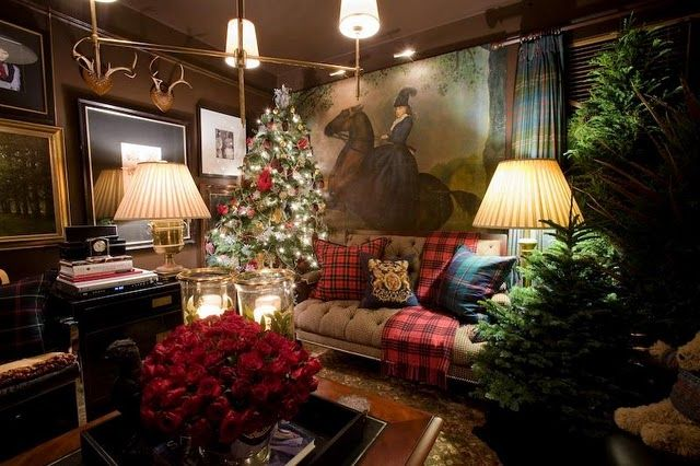 Gem tlich scottishcountry englische weihnachten - Weihnachten wohnzimmer ...