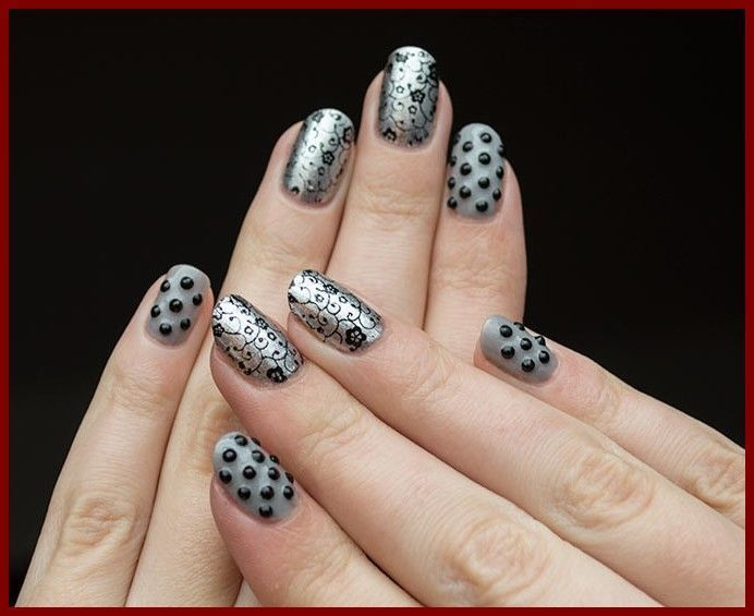 Cool Easy Nail Art Designs To Do At Home Stylishnails Nailpaint