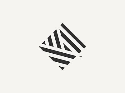Squaring A Stripe Graphic Design Logo Abstract Logo Logos