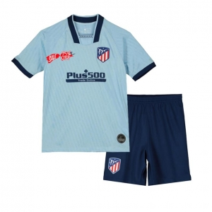 Kids Youth Atletico Madrid 19 20 Wholesale Third Cheap Soccer Kit Sale Low Price Shirt Kids Youth Atletico Madrid 19 20 Whol Soccer Kits Kids Suits Kids Soccer