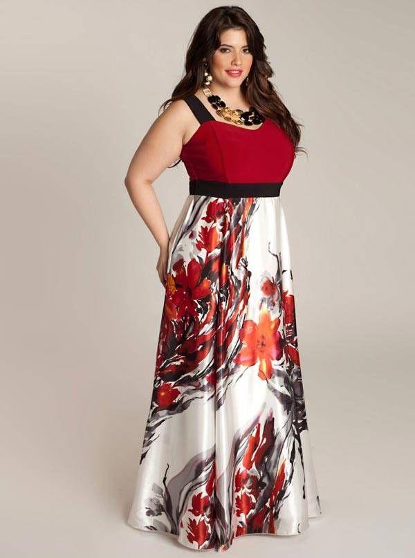 piniful.com plus size maxi dresses (42) #plussizefashion   Plus Size ...