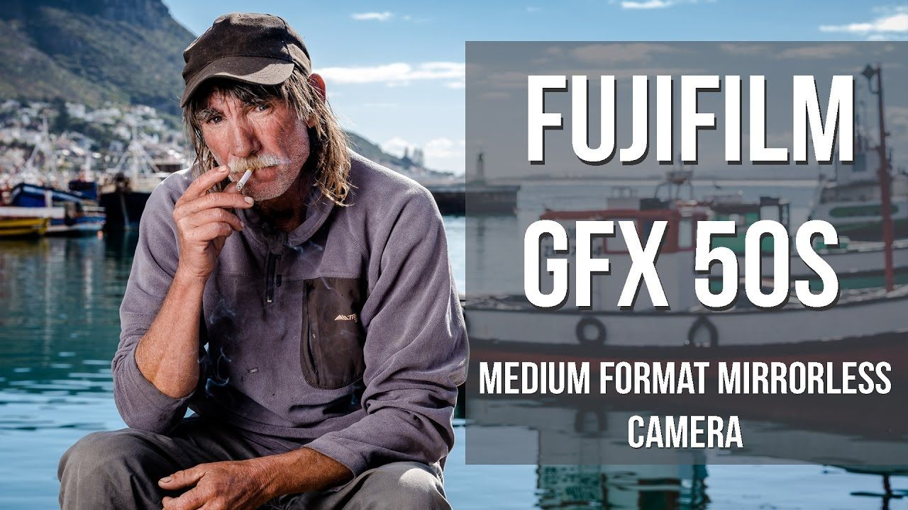 John Armstrong - Fujifilm X-Photographer - First impression of Fujifilm's new medium format mirrorless GFX50s. Portrait shoot at Kalk Bay Harbour, Cape Town,...