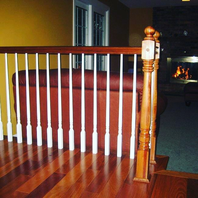 Best Pin By Stair Warehouse On Balusters Wood Balusters Red 400 x 300