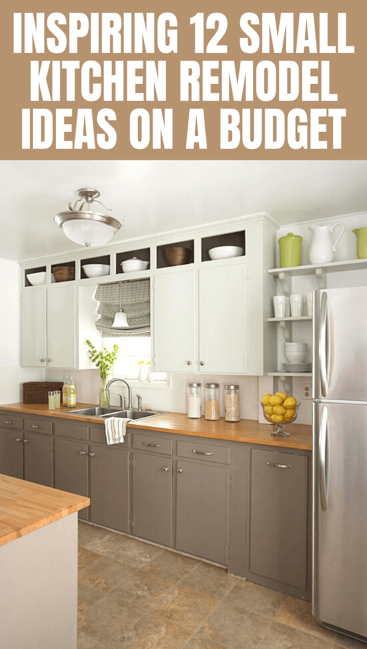 12 Small Kitchen Remodel On A Budget Small Kitchen Guides Budget Kitchen Remodel Kitchen Remodel Countertops Kitchen Design Small