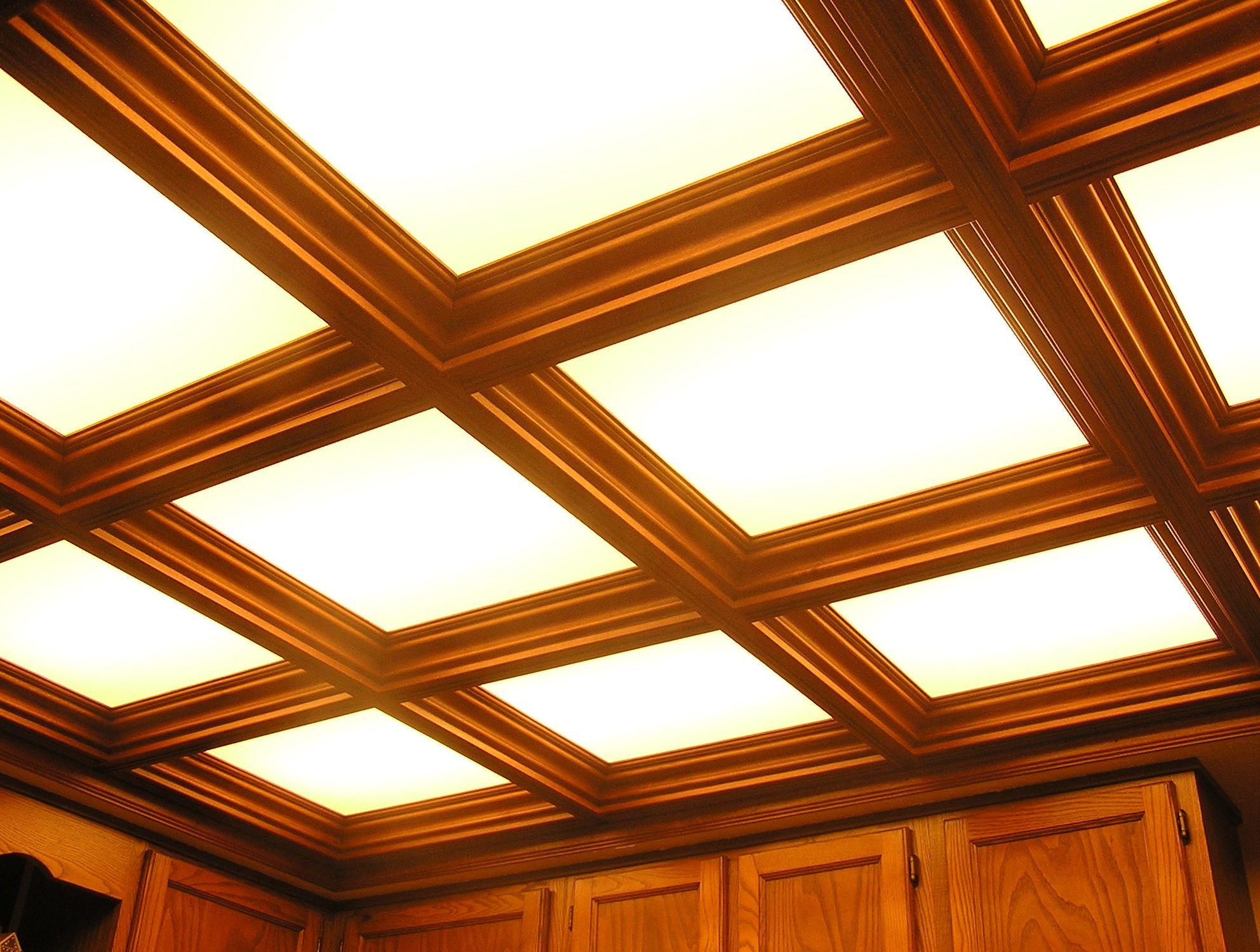 Wood Ceiling Tiles Panels | Home Design Ideas