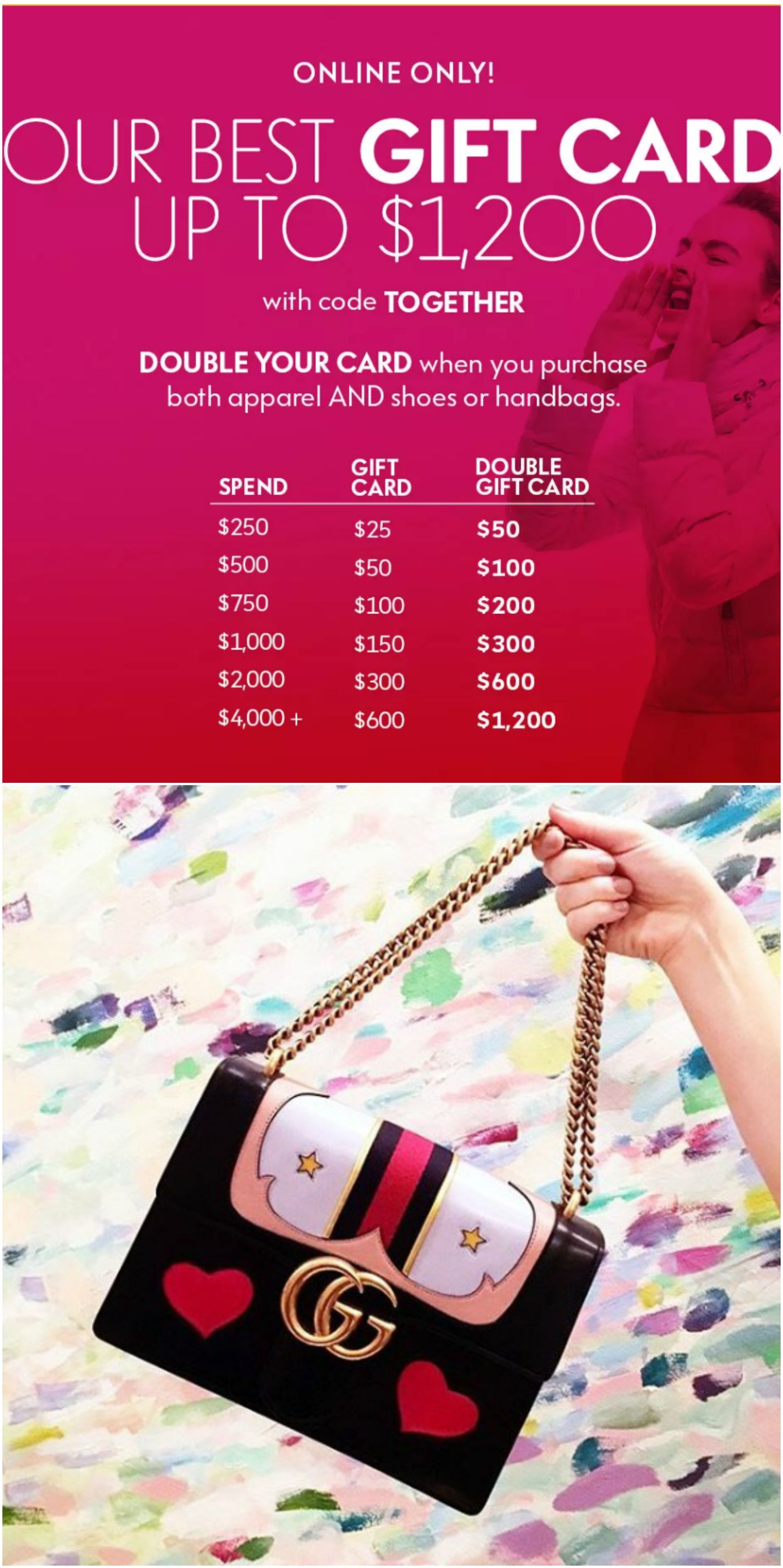 Dont miss out on this gift card event up to 1200 gift